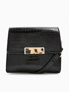 topshop-topshop-skye-croc-cross-body-bag-black