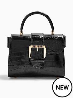 topshop-minny-buckle-mini-bag-black