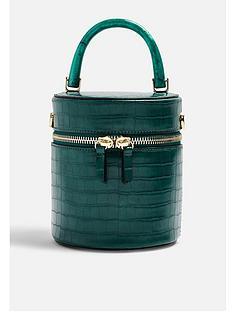 topshop-topshop-simi-croc-barrel-cross-body-bag-green