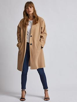 Dorothy Perkins Dorothy Perkins Dorothy Perkins Relaxed Masculine Coat -  ... Picture