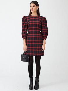 v-by-very-checked-dress-check