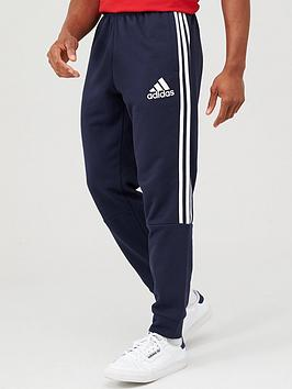 Adidas Adidas 3 Stripe Panel Pants - Navy Picture