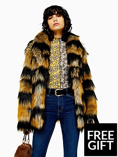 topshop-topshop-tiger-stripe-faux-fur-boxy-jacket-multi