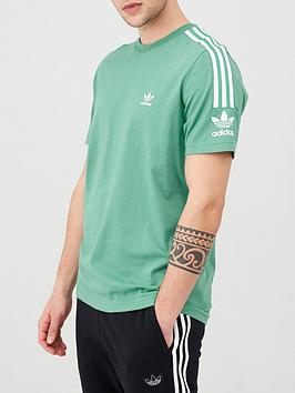 adidas Originals Adidas Originals Lock Up T-Shirt - Green Picture