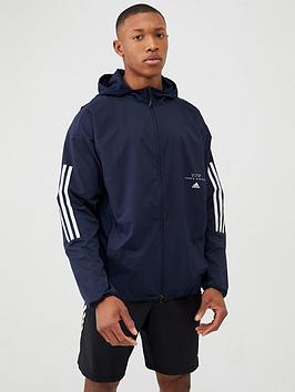 Adidas   Must Have 3 Stripe Jacket - Navy