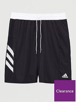 adidas-adidas-plus-size-basketball-3-stripe-short