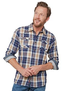 Joe Browns Joe Browns Two In One Check Shirt Picture