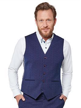 Joe Browns   Snazzy Stripe Suit Waistcoat