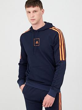 Adidas Adidas Athletics Overhead Hoodie - Ink Picture