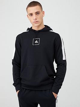Adidas   Athletics Overhead Hoodie - Black