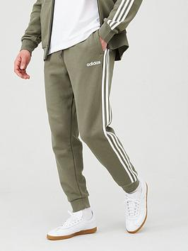 Adidas   3 Stripe Linear Pant - Green