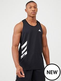 adidas-own-the-run-running-vest-black