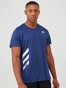Adidas Adidas Run It T-Shirt - Indigo Picture