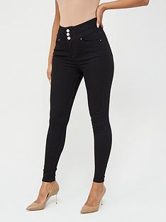 v-by-very-macy-high-waisted-skinny-jean--nbsp-black