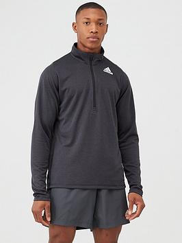 Adidas Adidas Training Zip Top - Black Picture