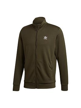 adidas Originals  Adidas Originals Essentials Trefoil Track Top - Night Cargo