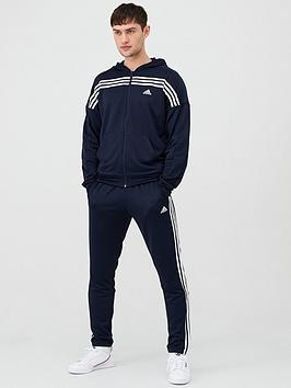 Adidas   Mts Urban Hooded Tracksuit - Ink