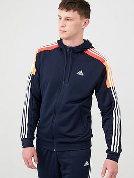 Adidas   Mts Sport Hooded Tracksuit - Ink