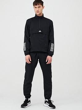 Adidas   Mts Tech Tracksuit - Black