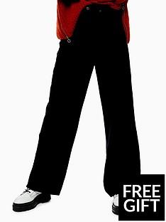 topshop-topshop-cord-slim-wide-leg-jeans-black