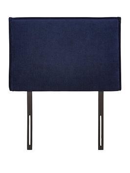 Very Dillan Plain Edge Single Size Divan Headboard Picture