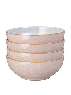 denby-elements-set-of-4-cereal-bowls-ndash-sorbet-pink