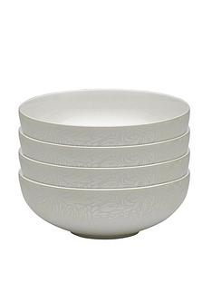 monsoon-denby-lucille-gold-4-piece-cereal-bowl-set
