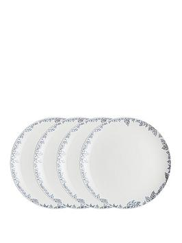 monsoon-denby-fleur-set-of-4-dinner-plates