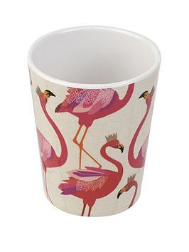 Sara Miller Sara Miller Flamingo Melamine Tumblers &Ndash; Set Of 4 Picture