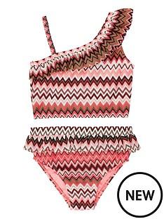 river-island-mini-mini-girls-cora-printed-one-shoulder-tankini-set-multi