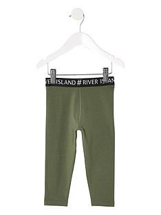 river-island-mini-mini-girls-leggings-khaki