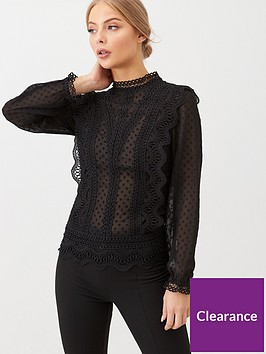v-by-very-high-neck-lace-victoriana-blouse-black