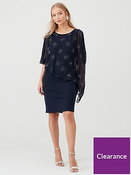 wallis-stardust-sparkle-overlayer-dress-ink