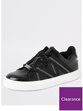 river-island-river-island-croc-tape-detail-trainers-black