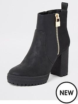 river-island-high-chunky-boot-black