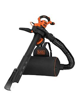 Black & Decker Black & Decker 3000W Corded Blowvac, Back Pack &Amp; Rake Picture