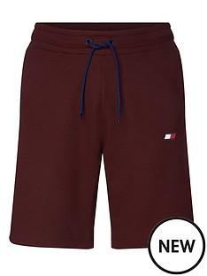 tommy-hilfiger-knit-fleece-shorts-burgundy