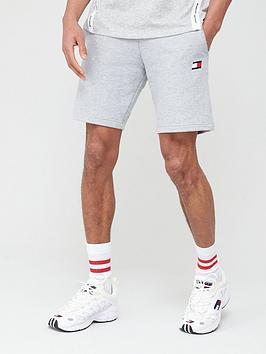 tommy-hilfiger-9-knit-fleece-shorts-grey