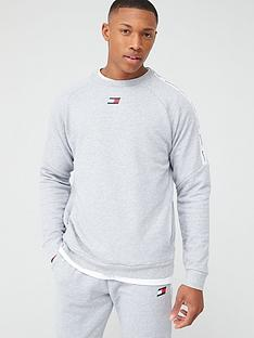 tommy-hilfiger-fleece-tape-crew-neck-sweater-light-grey-marl