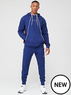tommy-hilfiger-fleece-hoodie-navy