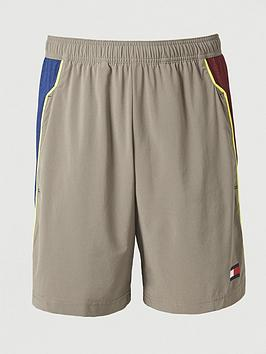 Tommy Hilfiger Tommy Hilfiger Tommy Sport Vent Colourblock Woven Shorts -  ... Picture