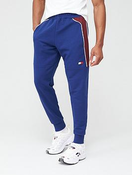 Tommy Hilfiger Tommy Hilfiger Cuffed Fleece Sweat Pants - Navy Picture