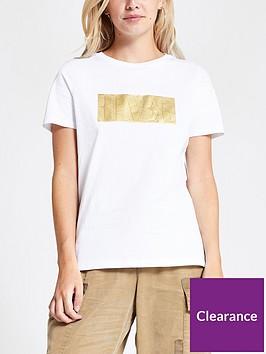 ri-petite-rvr-foil-print-t-shirt-white