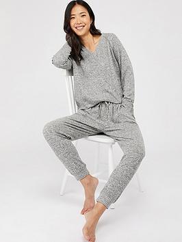 accessorize-sweatshirt-lounge-top-grey-marl
