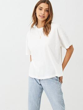 V by Very V By Very The Essential Boxy Tee - White Picture