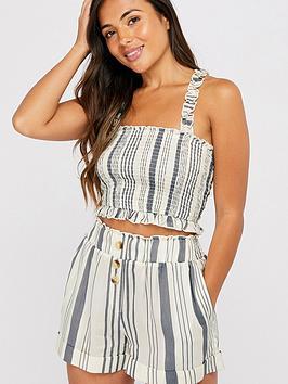 accessorize-woven-stripe-bandeu-top