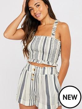 accessorize-woven-stripe-shorts