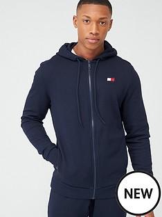 tommy-hilfiger-fleece-full-zip-hoodie-navy