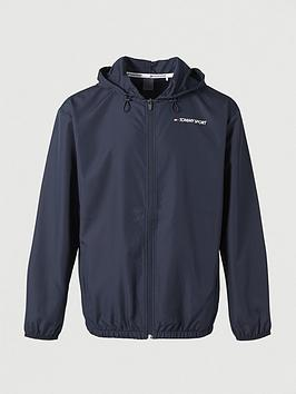 Tommy Hilfiger Tommy Hilfiger Tommy Sport Windbreaker - Navy Picture