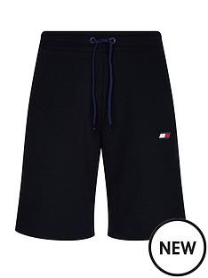 tommy-hilfiger-knit-fleece-shorts-navy